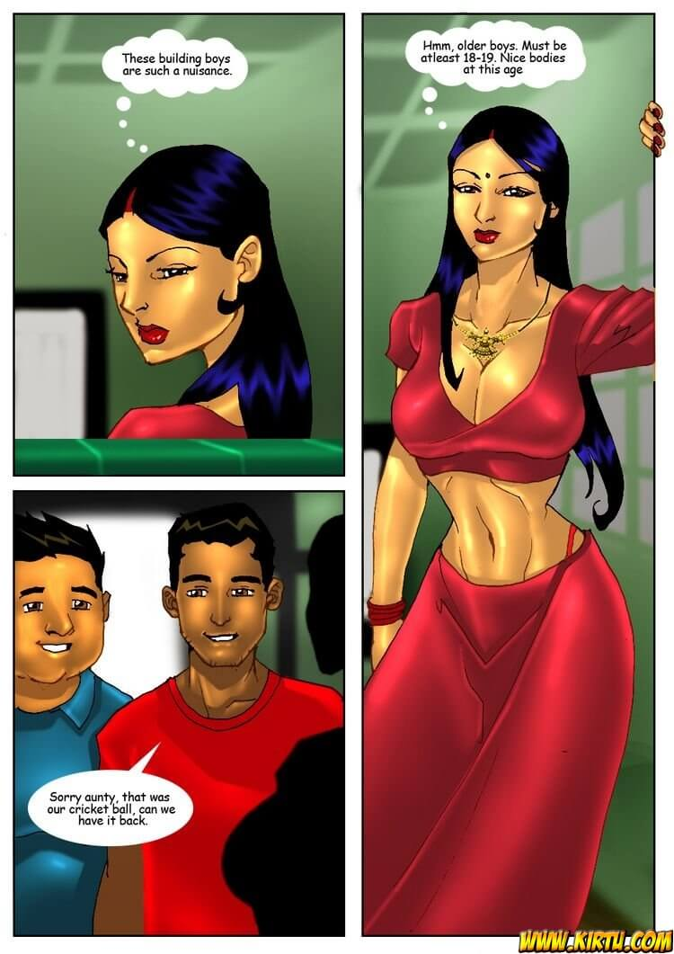 Savita Bhabhi - Episode 2 - The Cricket - Panel 002