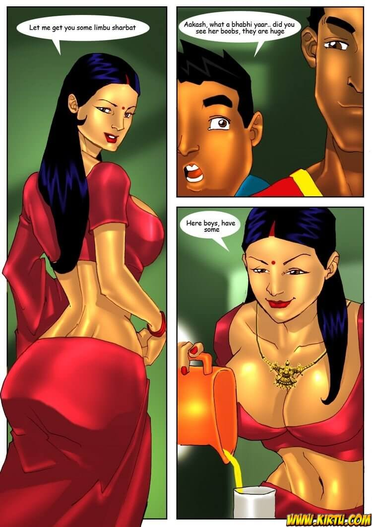 Savita Bhabhi - Episode 2 - The Cricket - Panel 005
