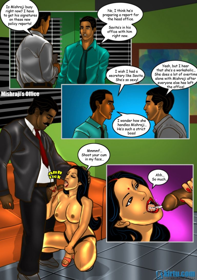 Savita Bhabhi - Episode 26 - The Photoshoot - Panel 001