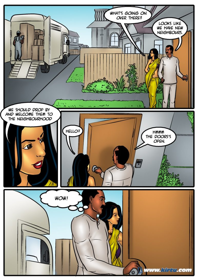 Savita Bhabhi - Episode 44 - Starring and Written by a Savita Bhabhi Fan! - Panel 001