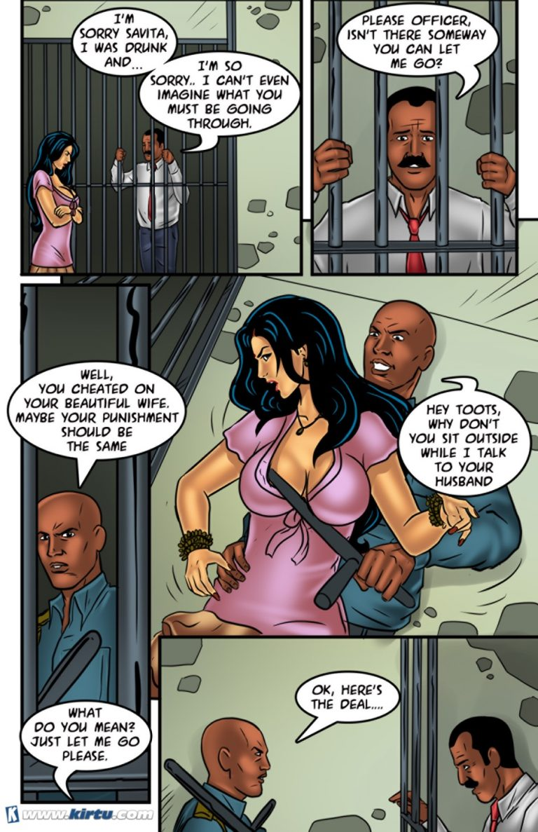 Savita Bhabhi - Episode 58 - A Wife's Sacrifice - Panel 005
