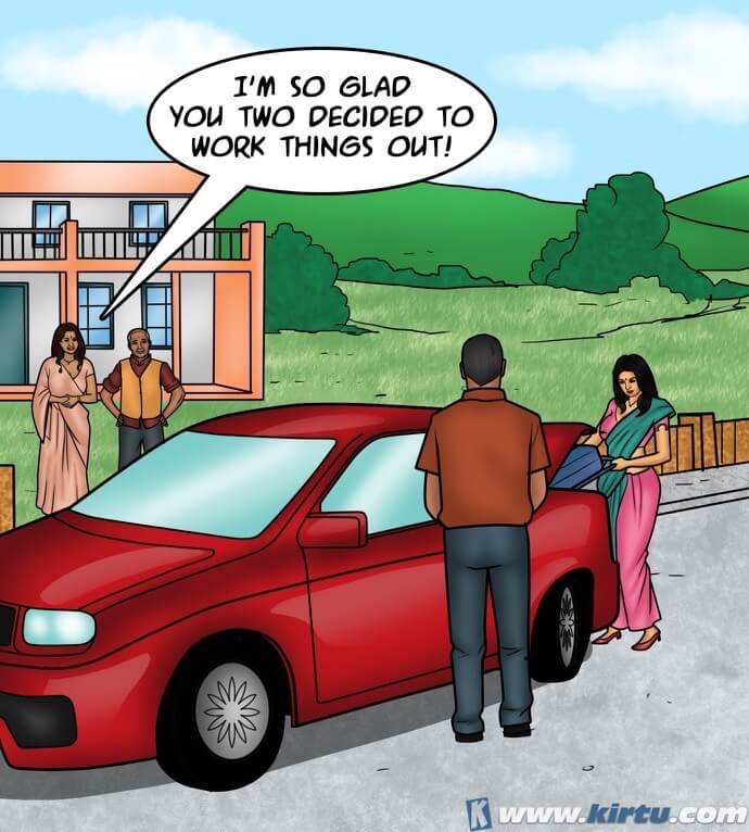 Savita Bhabhi - Episode 76 - Closing the Deal - Panel 001