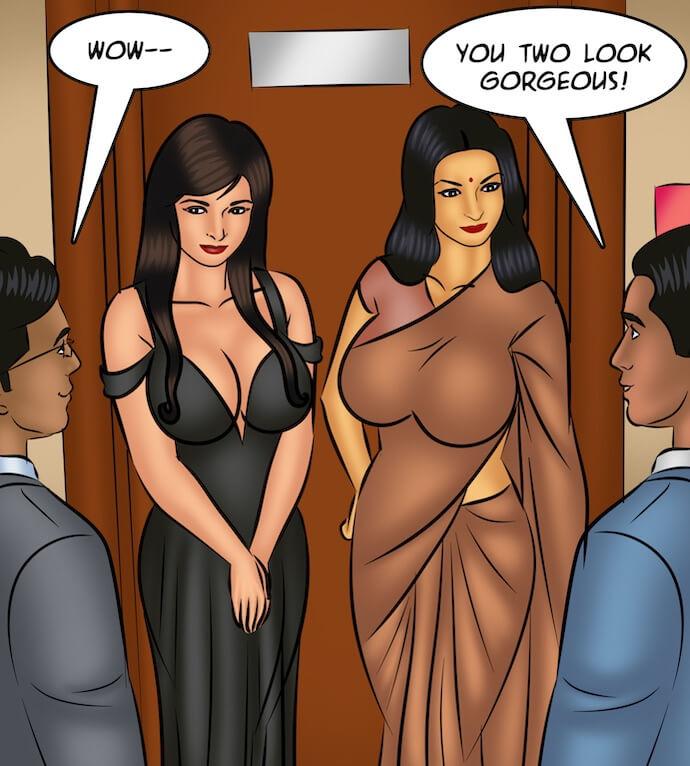 Savitha Bhabhi porno komiksy