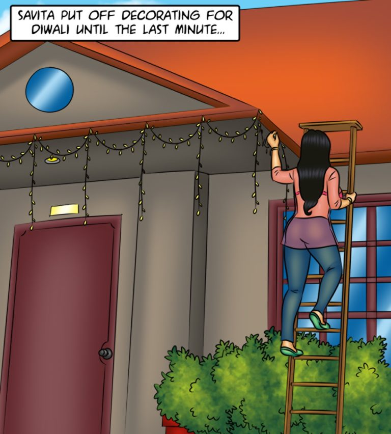 Savita Bhabhi - Episode 120 - Mouth to Mouth - Panel 001