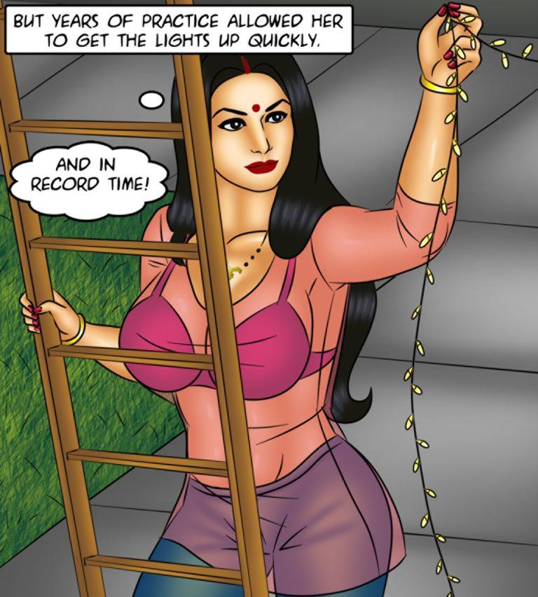 Savita Bhabhi - Episode 120 - Mouth to Mouth - Panel 002