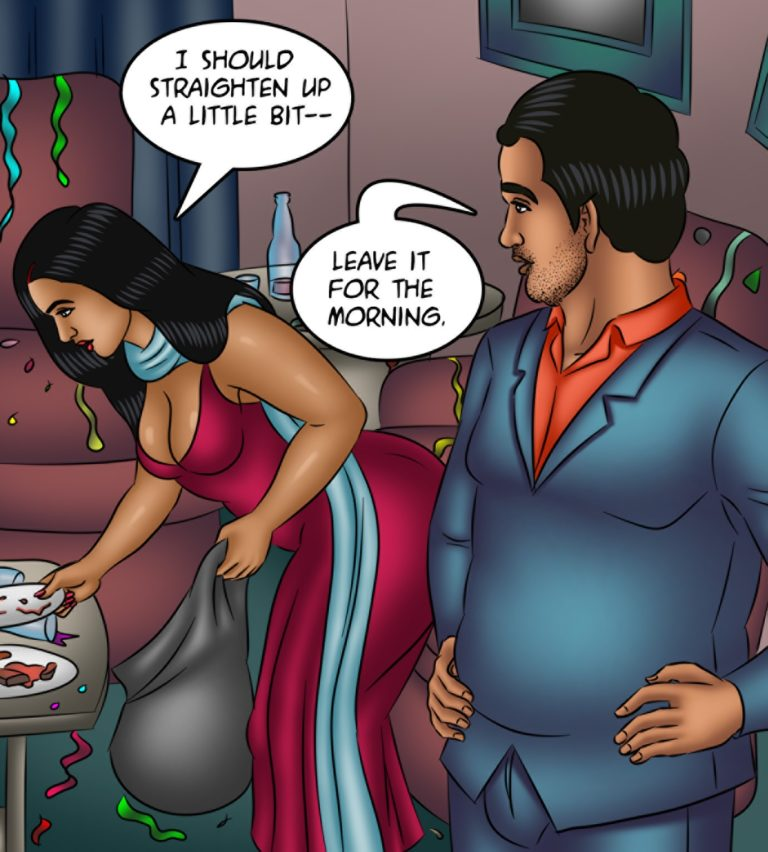 Savita Bhabhi - Episode 122 - Time Machine - Page 001