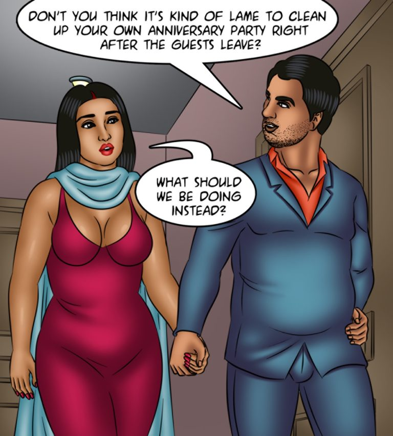 Savita Bhabhi - Episode 122 - Time Machine - Page 002