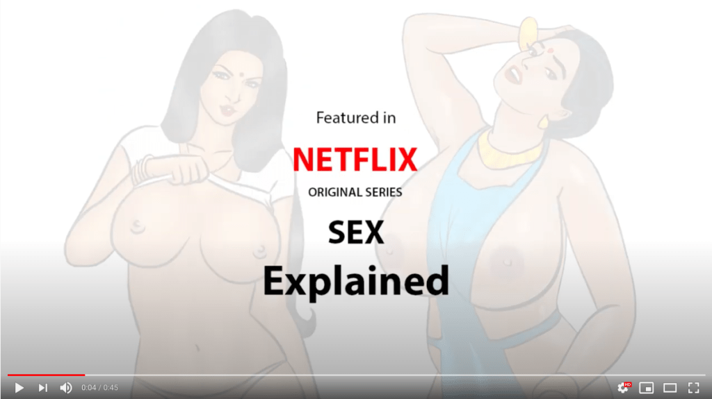Savita Bhabhi on Netflix