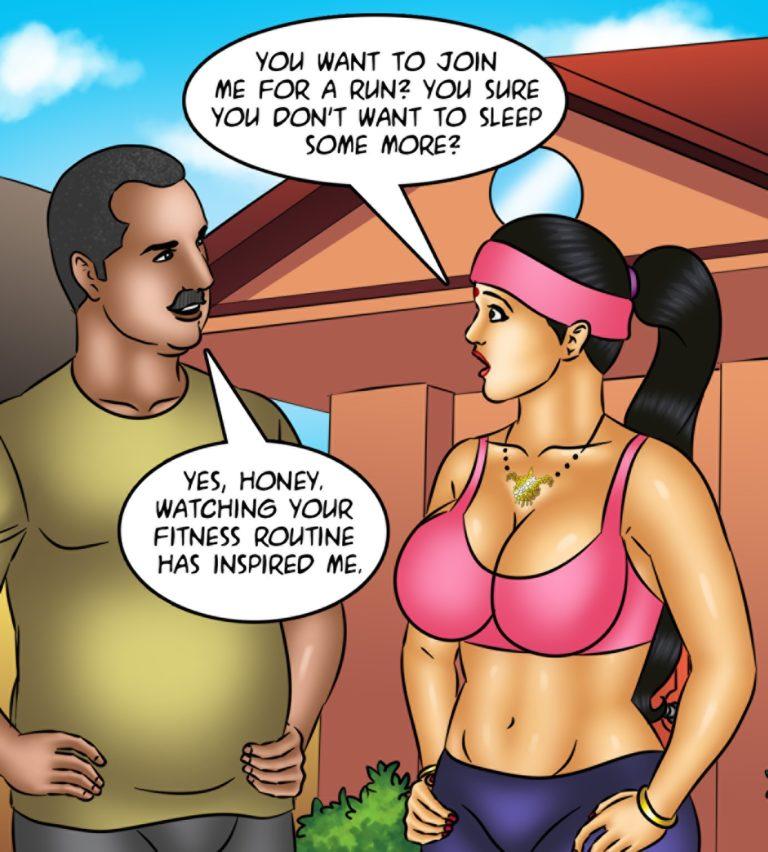 Savita Bhabhi - Episode 123 - Yogasutra - Page 003