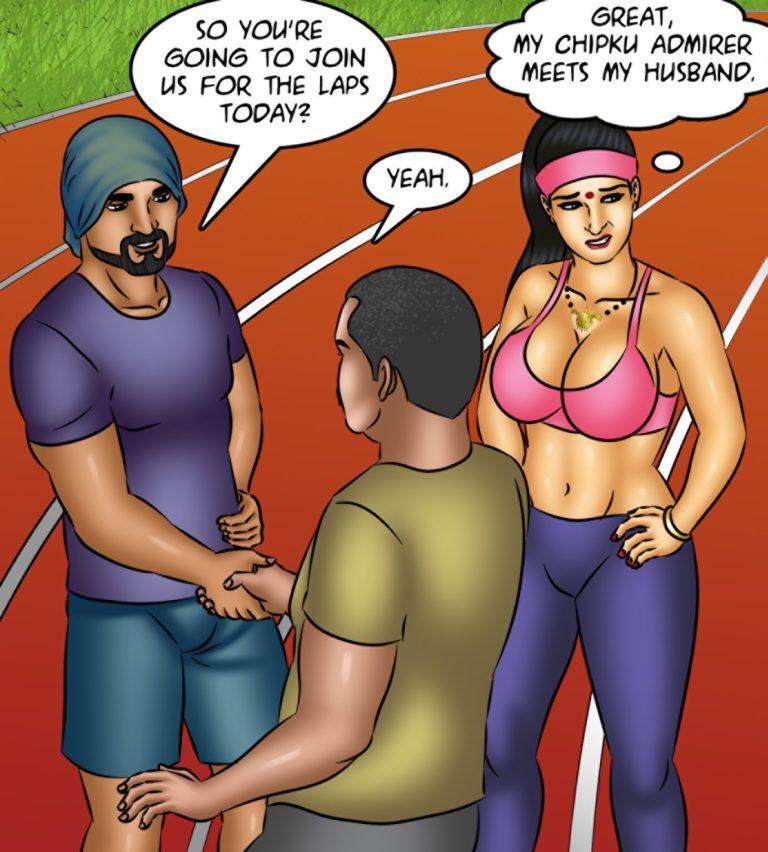 Savita Bhabhi - Episode 123 - Yogasutra - Page 009