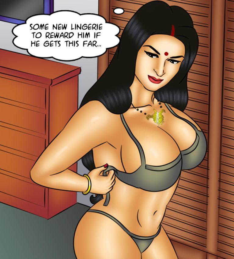 Savita Bhabhi - Episode 126 -The Disappearing Act - Page 009