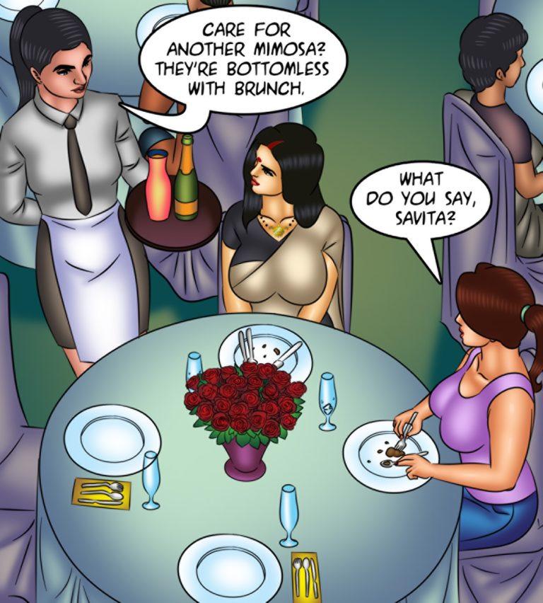 Savita Bhabhi - Episode 128 - Waxing Erotic - Page 001