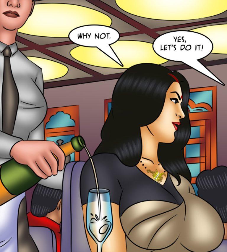 Savita Bhabhi - Episode 128 - Waxing Erotic - Page 002