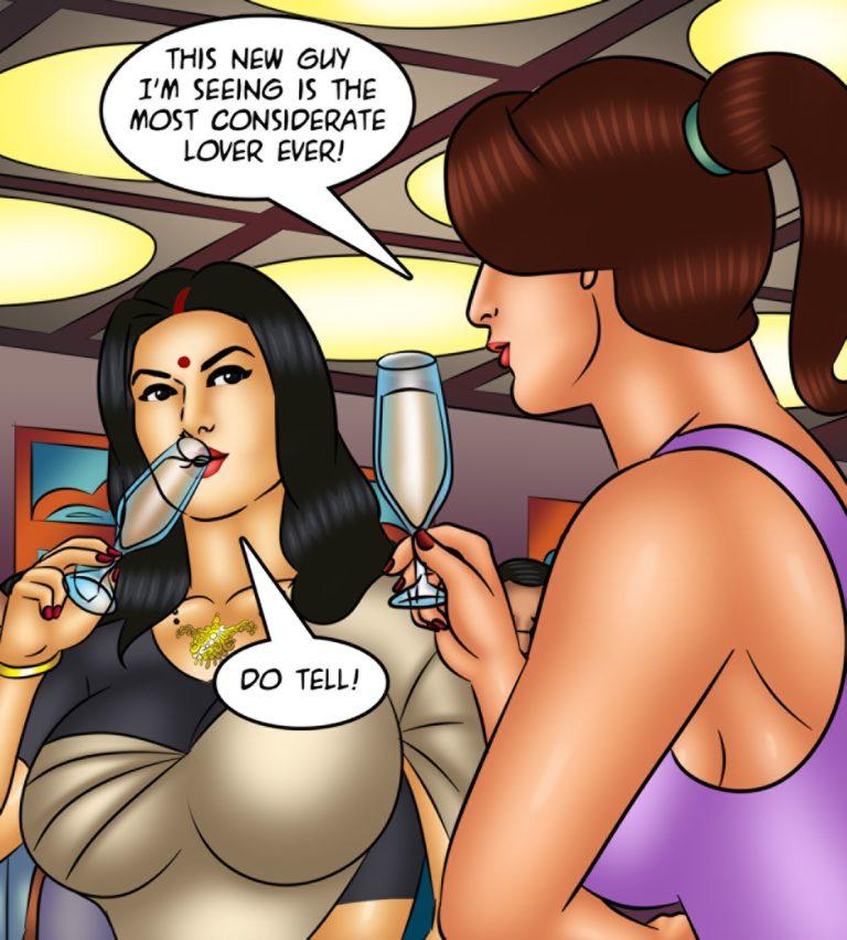 Savita Bhabhi - Episode 128 - Waxing Erotic - Page 005