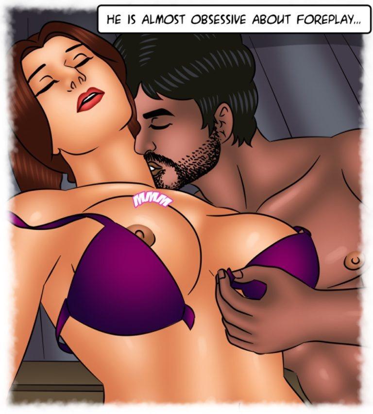 Savita Bhabhi - Episode 128 - Waxing Erotic - Page 008