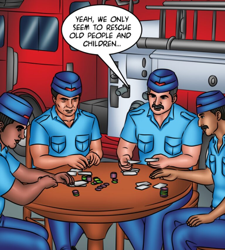Savita Bhabhi - Episode 130 - Savita Is on Fire - Page 002