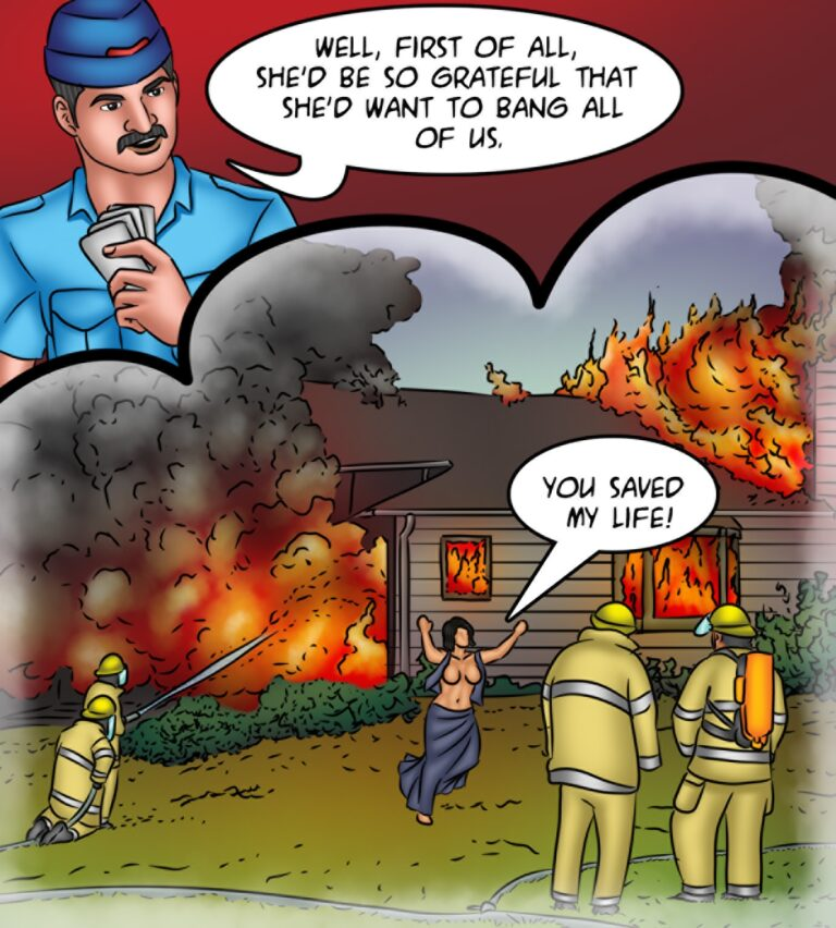 Savita Bhabhi - Episode 130 - Savita Is on Fire - Page 004