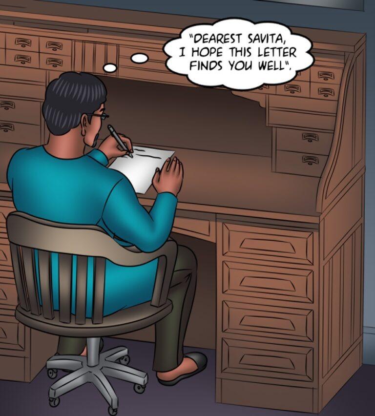 Savita Bhabhi - Episode 132 - A ghost story - Page 001
