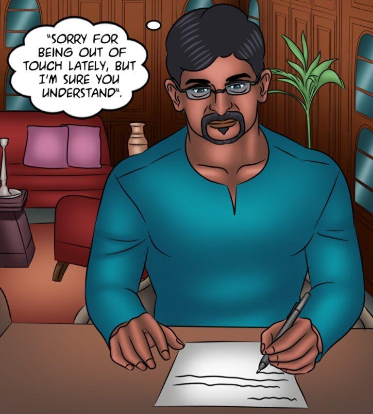 Savita Bhabhi - Episode 132 - A ghost story - Page 002